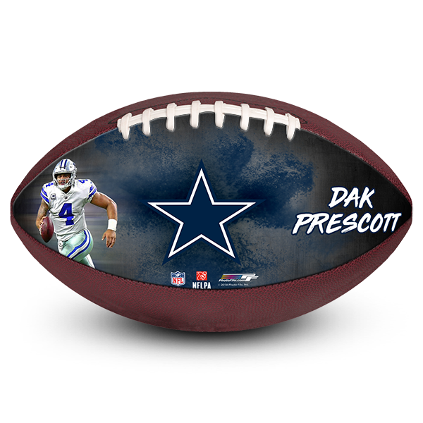 Are you searching for the most amazing Dak Prescott fan birthday gift? Look no further. We produce real photo footballs which can be customized with your ...